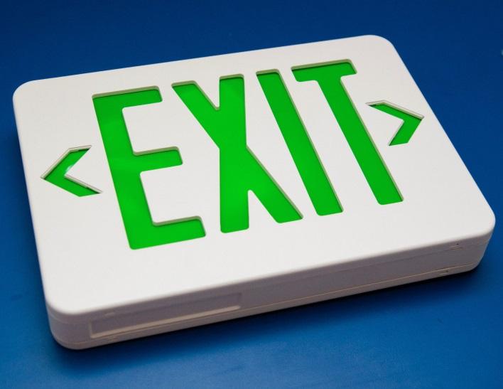 exit light gx200 ng