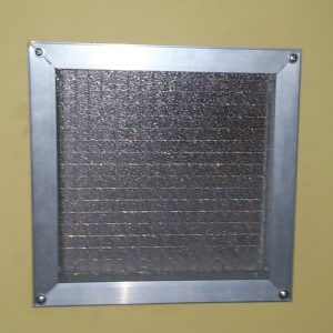Square Fire Glass Panel 6mm