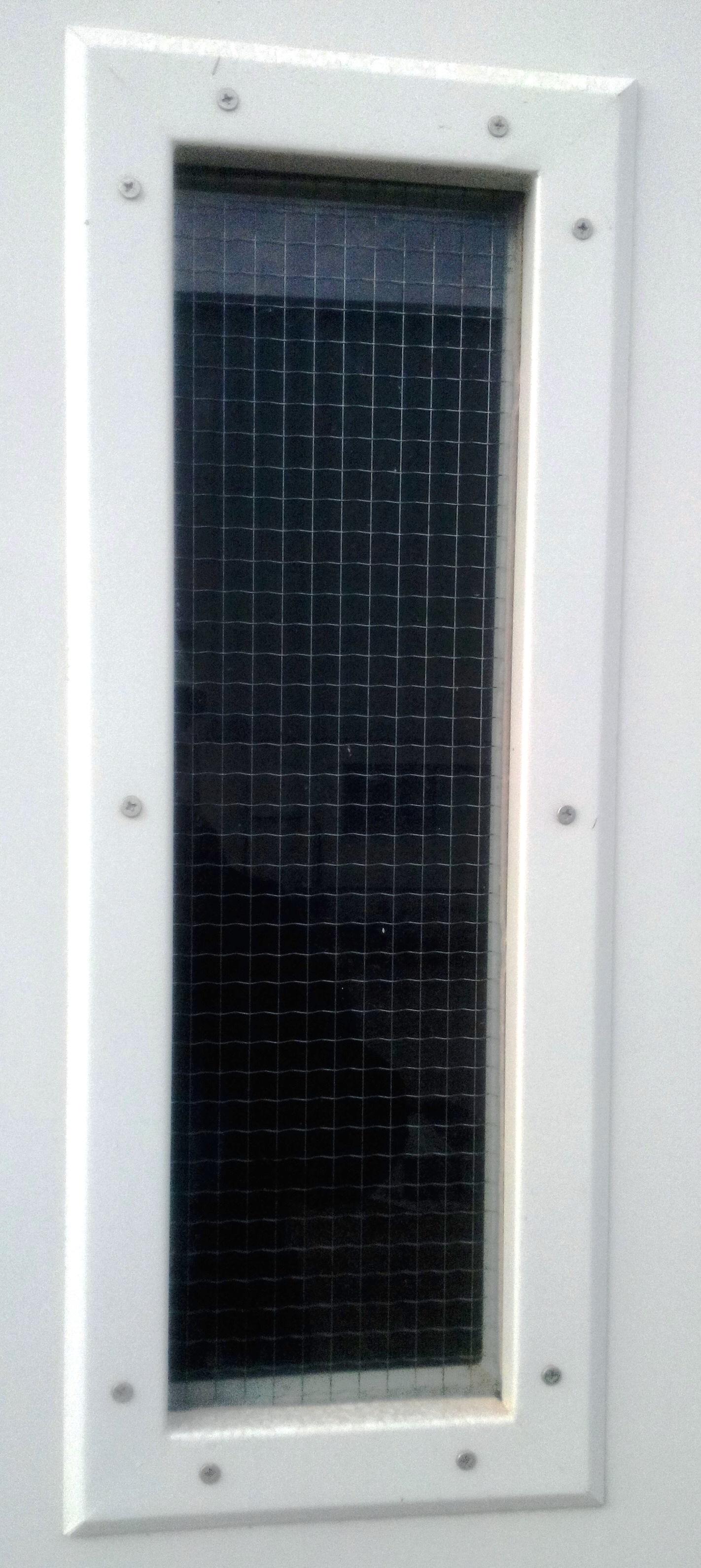 Vertical Fire Glass Panel 15mm