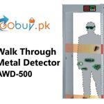 Walk-through-gate-metal-detector