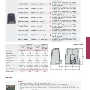 Sliding Gate Motor – BFT DEIMOS BT A600